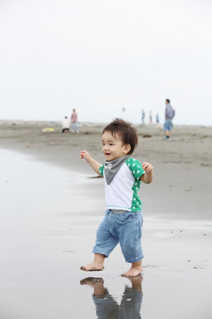 1歳記念 海