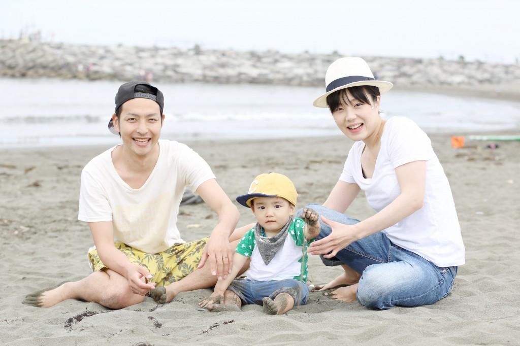 家族写真・海