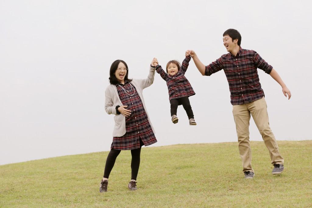 家族写真 ナチュラル