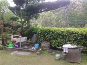 田舎の洗面台