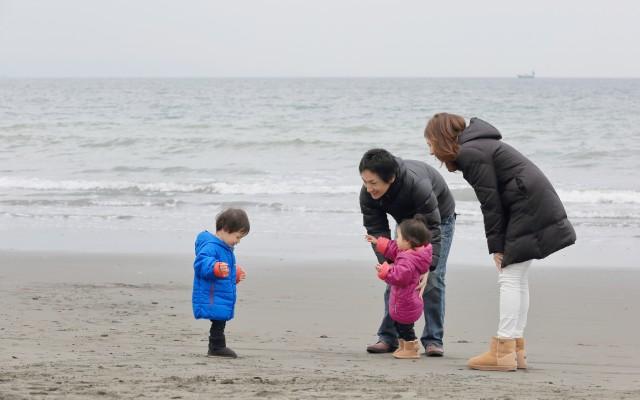 家族写真 海冬